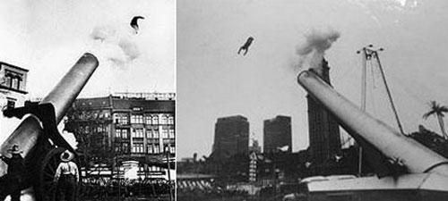Номер со стрельбой детьми Идельбрандо стал настоящей сенсацией, и «Олимпия», семейный цирк Заккини, совершил очень успешный тур по Европе. Неудивительно, что американский импресарио Джон Ринглинг, увидав трюк в Копенгагене, в 1929 году перевёз всё семейство Заккини в Штаты.